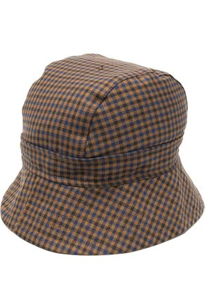 Liberal Youth Ministry Men Hats - Check print bucket hat