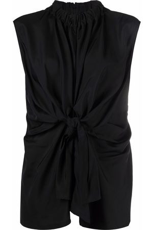 Colville Knot-detail blouse