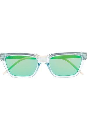 Gucci Eyewear Men Sunglasses - Transparent rectangle-frame sunglasses