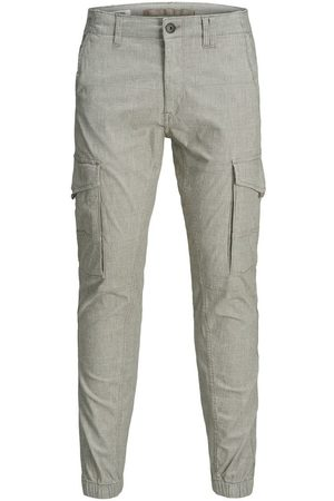 JACK & JONES Paul Flake Akm Checked Cargo Trousers
