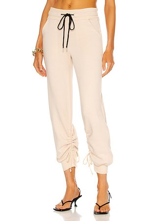 THE RANGE Cinched Sweatpant in Dark Champagne