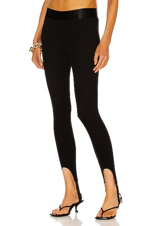 THE RANGE Elastic Band Stirrup Pant in Jet