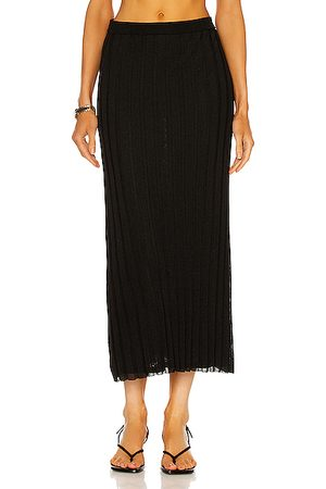 Totême Rib Knit Maxi Skirt in