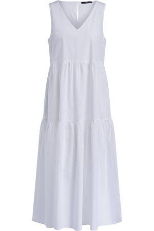SET Set Dress Summer Cotton Maxi in off 72190