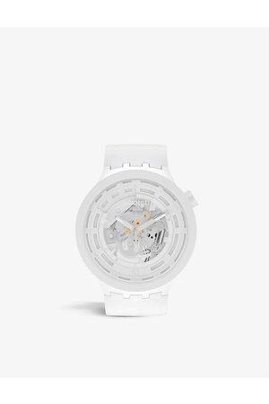 Swatch SB03M100 C- silicone chronograph watch