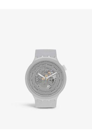 Swatch SB03M100 C- Bioceramic chronograph watch