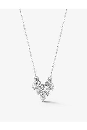 The Alkemistry Dana Rebecca Sophia Ryan 14ct - and 0.20ct diamond necklace