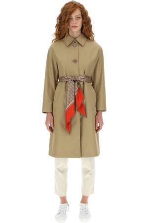 HERNO Women's woven raincoat