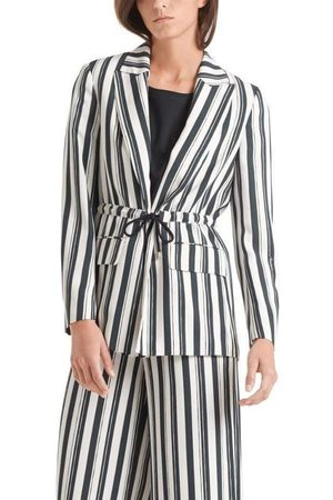Marc Cain Collections Navy Striped Jacket QC 34.21 W63 395