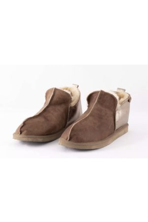 Shepherd Annie Cognac/Gold Slippers