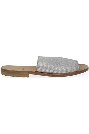 Moma Women Casual Shoes - Leather Slip On Loafer