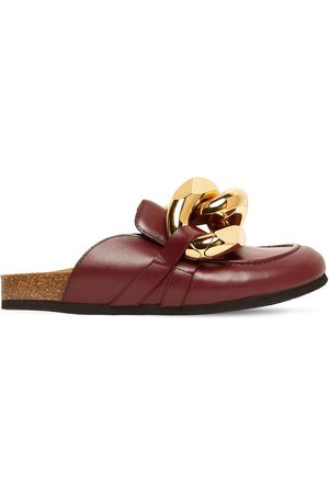 J.W.Anderson 15mm Embellished Leather Mules