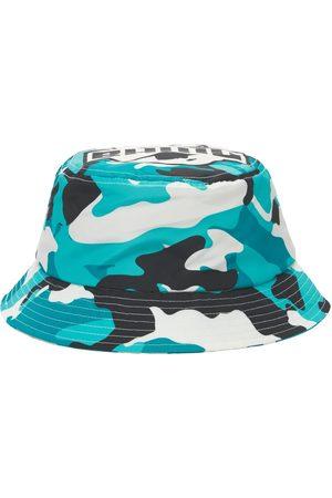 BHMG Camo Logo Techno Bucket Hat