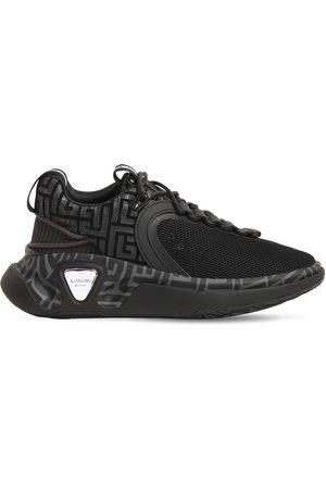 Balmain Men Trainers - B Runner Mesh & Suede Low Top Sneakers