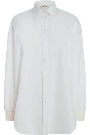 Alexander McQueen Heavy Poplin Shirt