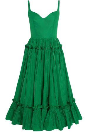 Alexander McQueen Women Sleeveless Dresses - Sustainable Taffetà Sleeveless Dress