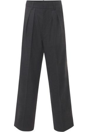 Isabel Marant Nafy Wool Low Waist Pleated Pants