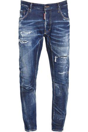 Dsquared2 Men Jeans - 17cm Tidy Biker Cotton Denim Jeans