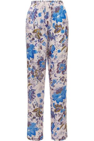 Isabel Marant Women Trousers - Benton Printed Viscose Pants