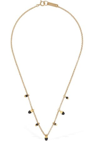 Isabel Marant Women Necklaces - Bicolor New Leaves Short Necklace