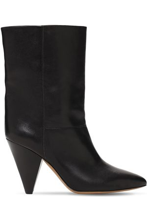 Isabel Marant 90mm Locky Leather Ankle Boots