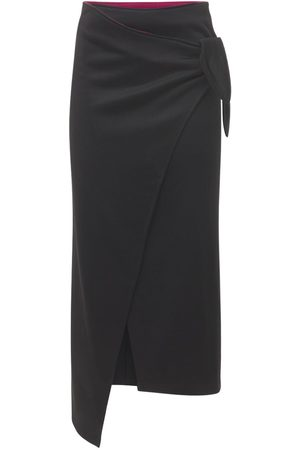 Isabel Marant Isilde Wrapped Crepe Midi Skirt