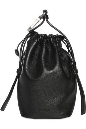 Jil Sander Men Purses & Wallets - Drawstring Hook Leather Pouch