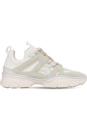 Isabel Marant 30mm Kindsay Mesh & Suede Sneakers