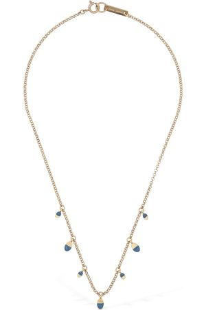 Isabel Marant Bicolor New Leaves Short Necklace
