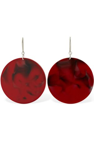 Isabel Marant Women Earrings - Big Circle Resin Earrings