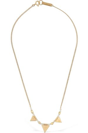 Isabel Marant Women Necklaces - Multi-charm Stone Short Necklace