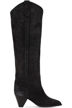 Isabel Marant Women High Leg Boots - 60mm Lihana Suede Tall Boots
