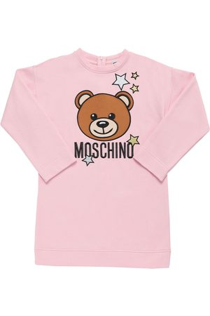Moschino Toy Patch Cotton Sweat Dress