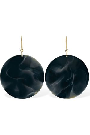 Isabel Marant Big Circle Resin Earrings