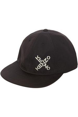 Kenzo Men Hats - Techno Canvas Baseball Hat W/logo