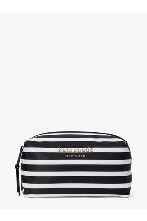 Kate Spade Women Clutches - Everything Puffy Stripe Medium Cosmetic Case