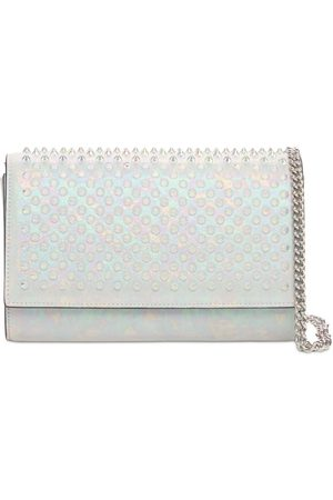 Christian Louboutin Women Clutches - Paloma Leather Spikes Clutch