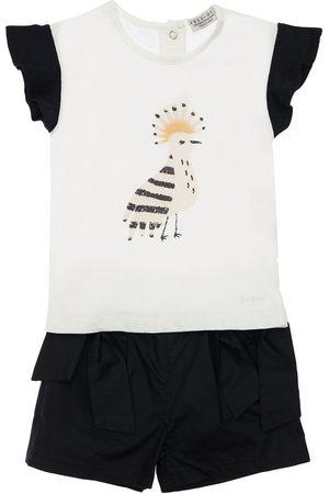 YELLOWSUB Cotton Jersey T-shirt & Shorts