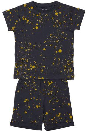 YELLOWSUB Printed Cotton Jersey T-shirt & Shorts