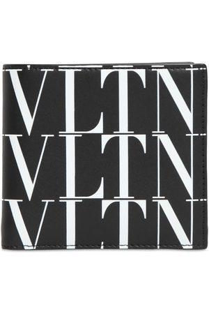 VALENTINO GARAVANI Men Purses & Wallets - Vltn Times Print Leather Wallet