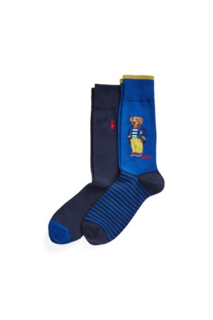 Polo Ralph Lauren Polo Bear Crew Sock 2-Pack