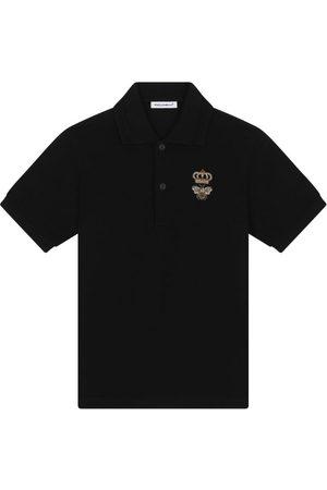 Dolce & Gabbana Kids Embroidered Polo Shirt (2-6 Years)
