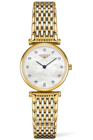 Longines Stainless Steel and Diamond La Grande Classique de Watch 24mm