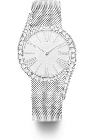PIAGET White and Diamond Limelight Gala Watch 34mm