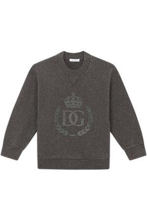 Dolce & Gabbana Sweatshirts - Kids Cotton Sweatshirt (2-6 Years)