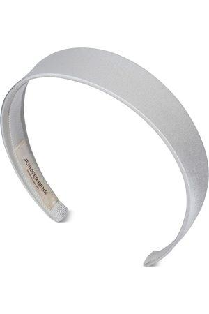 Jennifer Behr Lydia satin headband - Neutrals