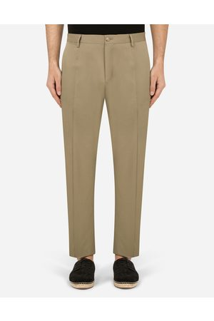 Dolce & Gabbana Trousers and Shorts - Wool and silk pants male 52