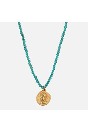 Hermina Athens Women Necklaces - Women's Hermis Necklace - Turquoise