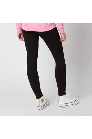Women Leggings - Tommy Jeans Women's Tjw Branded Waistband Leggings