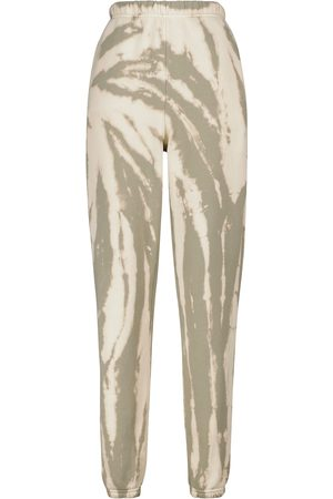 Les Tien Tie-dye cotton sweatpants